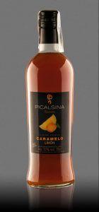 Licor Vodka Caramelo al Limon de Albacete «Picalsina»