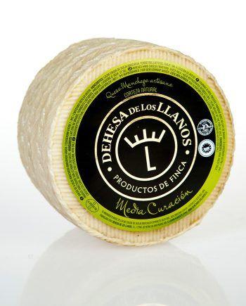 queso manchego dehesa de los llanos mediacuración