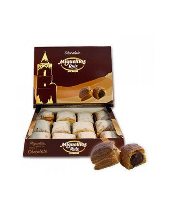 miguelitos de la roda Ruiz chocolate