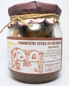Escabeche artesano de Codornices Extra ( 2 unidades)