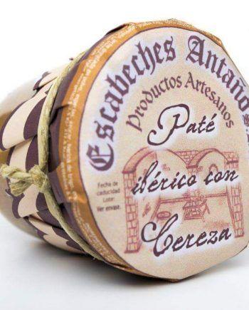 Pate artesano Iberico a la cereza