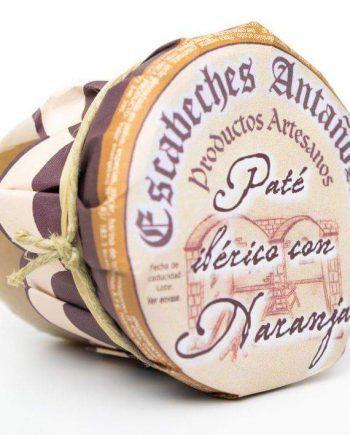Pate artesano Iberico a la naranja