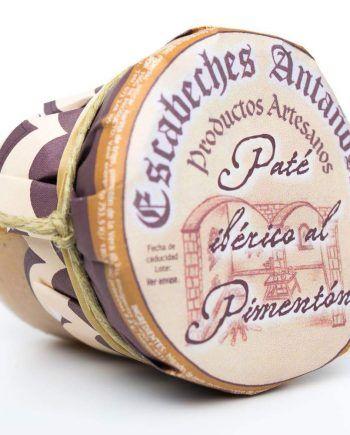 Pate artesano Iberico al Pimenton