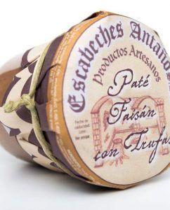 Paté artesano de Faisán con trufas