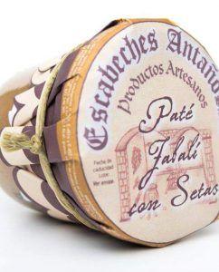 Paté artesano de Jabalí con setas