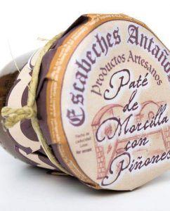 Paté artesano de Morcilla y Piñones