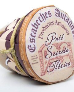 Paté artesano de Secreto Ibérico