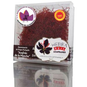 Azafrán de Albacete en estuche de plástico «Hebra Roja»