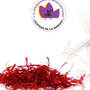 """Azafran de Albacete en tarro de vidrio con tapa metálica """"Hebra Roja"""""""