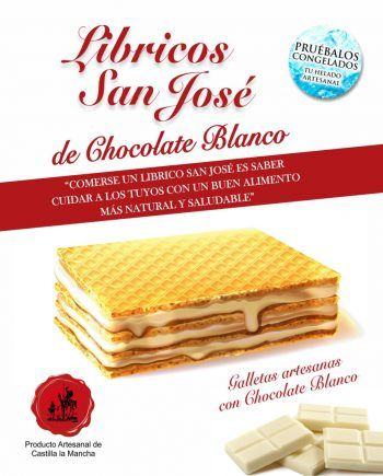 Libricos san jose CHOCOLATE BLANCO