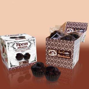Chocolate Rocas artesanas