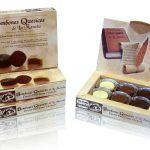 3621Rocas artesanas de chocolate negro
