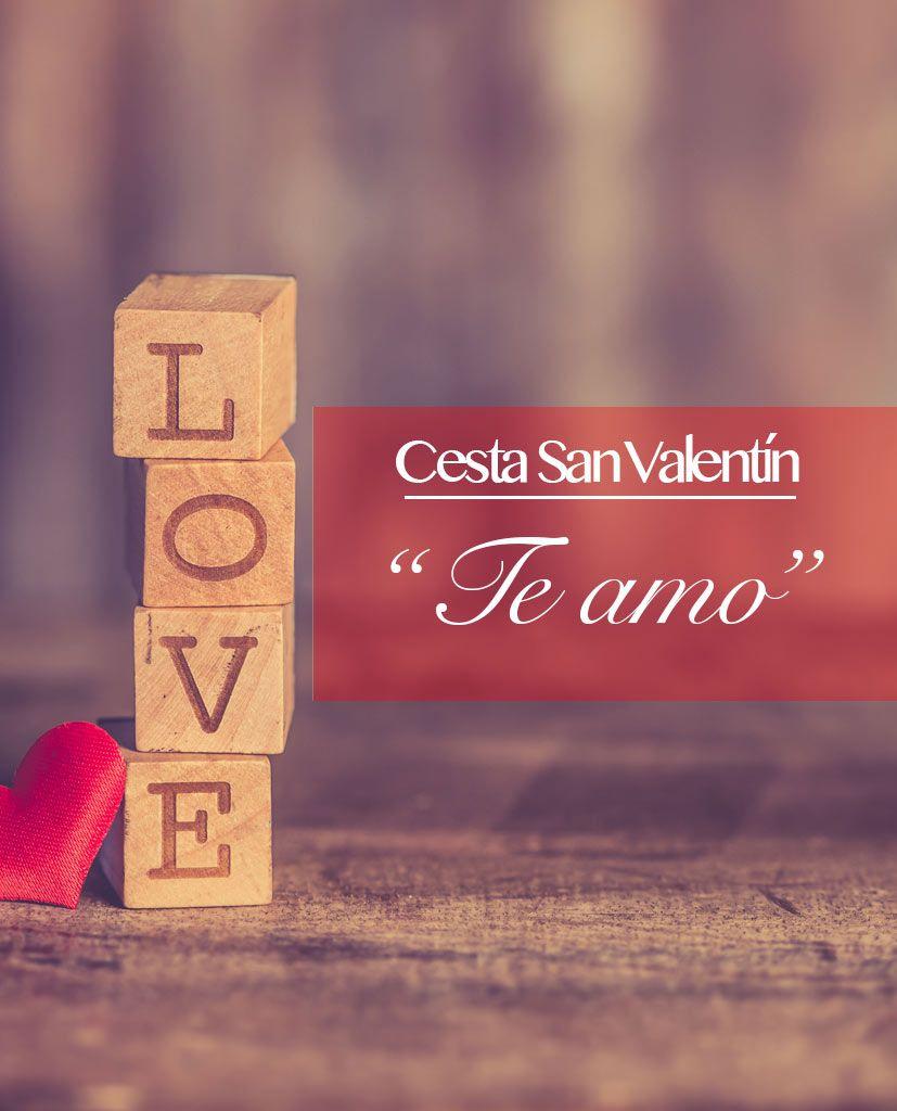 San Valentín te amo