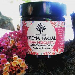 Cosmética natural crema facial