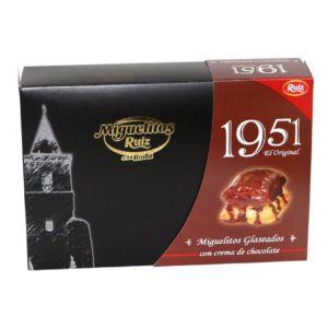 Miguelitos de la Roda 1951 Glaseados con Chocolate
