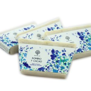 Jabón de romero y cacao 100g