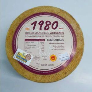Queso Manchego «1980» Semicurado