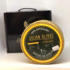 """Queso de Albacete """"Julián Olivas"""" curado"""