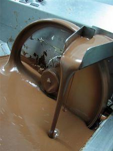 Elaboración de bombones de chocolate