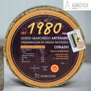 Queso Manchego «1980» curado