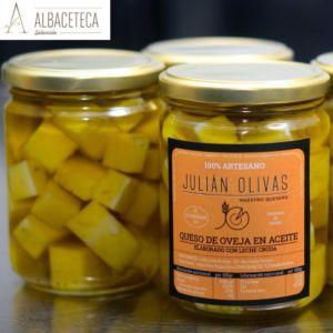 Queso en aceite «Julian Olivas»