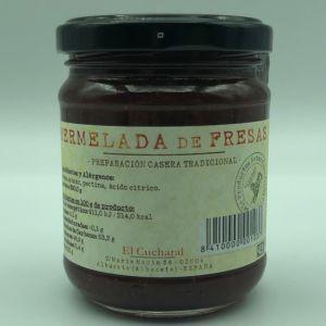 Mermelada artesana de fresa